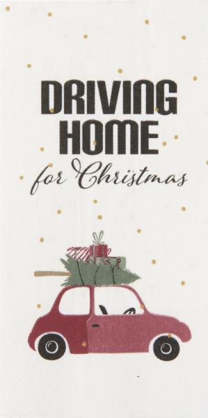 Ib Laursen Papierservietten Driving Home for Christmas
