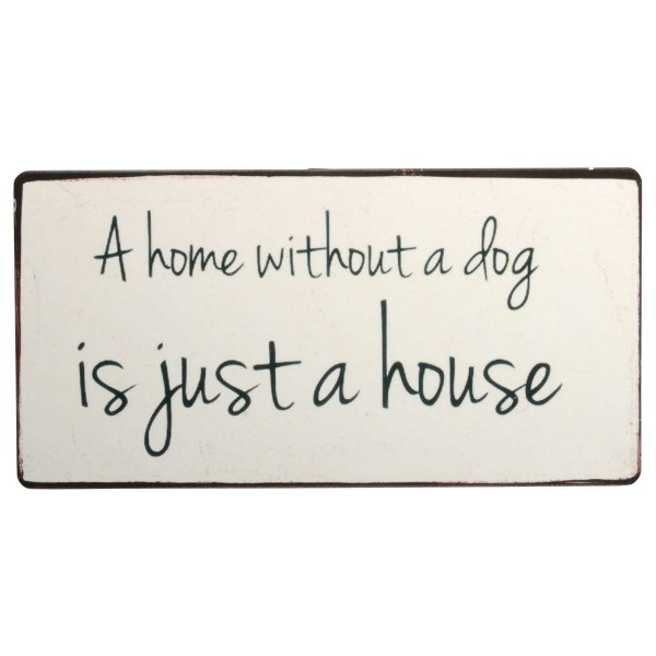 """Ib Laursen Magnet, """"A home without a dog"""""""