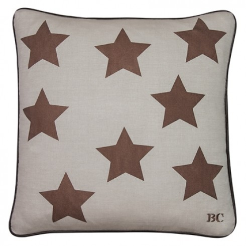 Bastion Collections Kissen, Nature Copper Stars