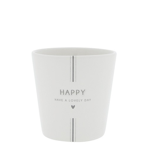 Bastion Collections Becher / Mug Have a lovely Day, Grey, SS21