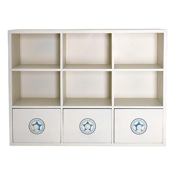 Greengate Holzschränkchen Wood Cabinet No 1, weiß - 2. WAHL!