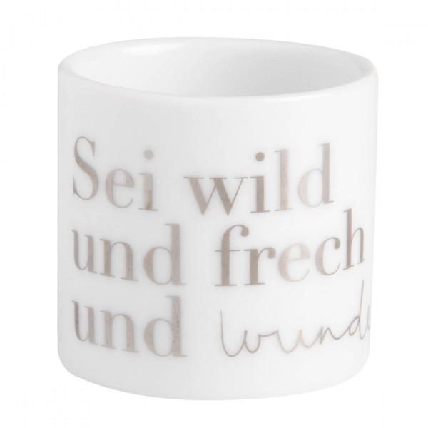 """Teelichthalter Helle Freude """"Wunderbar"""""""