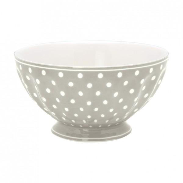 GreenGate Schale / French Bowl Spot Grey, xlarge