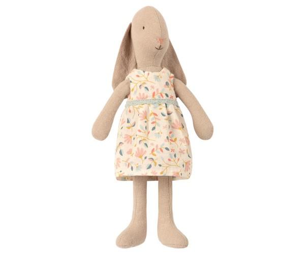 Maileg Hase / Bunny Girl, Flower Dress, Size 1