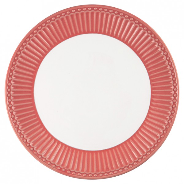 GreenGate Teller / Plate, Alice Coral