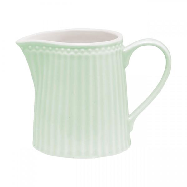 GreenGate Milchkännchen / Creamer, Alice Pale Green