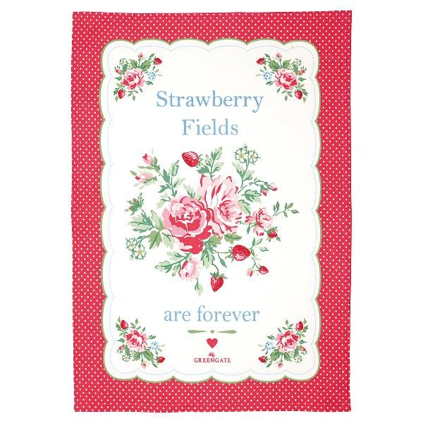 GreenGate Geschirrtuch Mary white piece printed