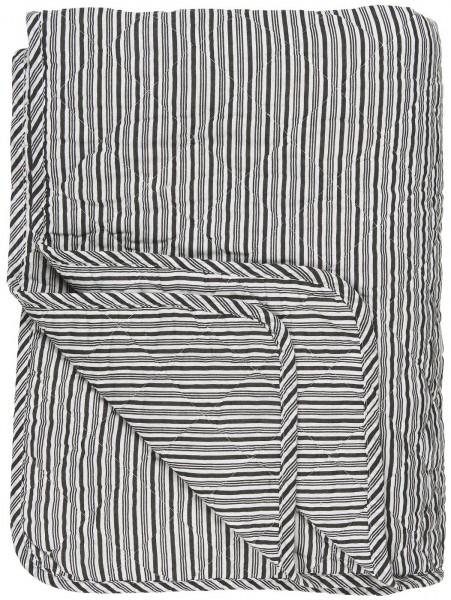 Ib Laursen Quilt, Streifen, Schwarz