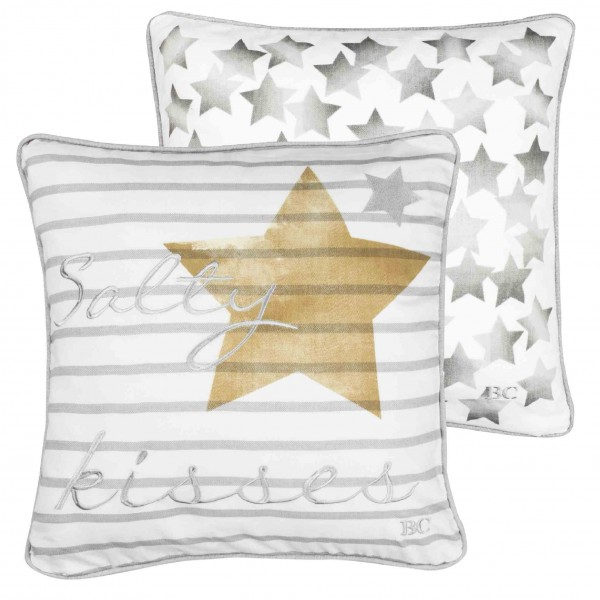 Bastion Collections Kisen, Salty Kissses & Stars, Grey / Ocher