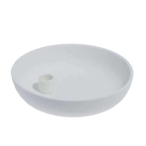 Storefactory Kerzenhalter Lidatorp weiß, groß