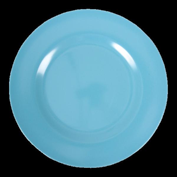 Rice Melamin Teller, Turquoise