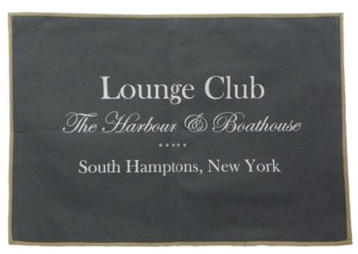 "Tischset ""Lounge Club"", grau"