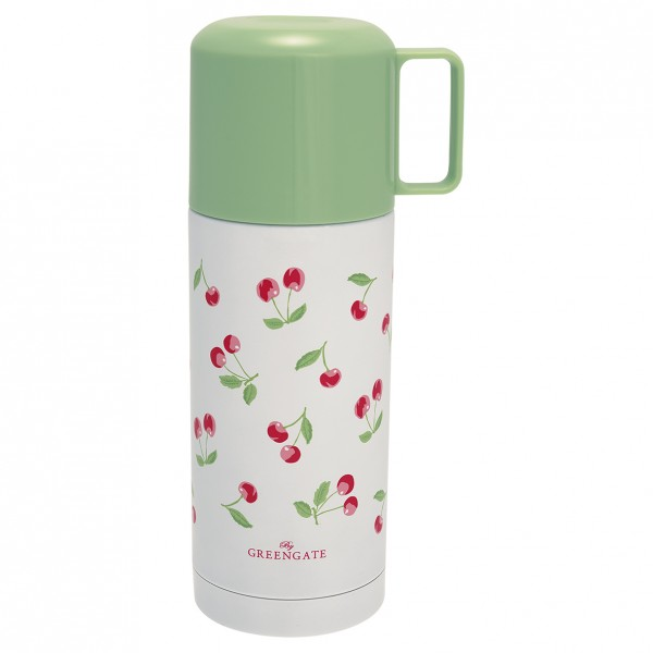 GreenGate Thermosflasche Cherry White, 350 ml