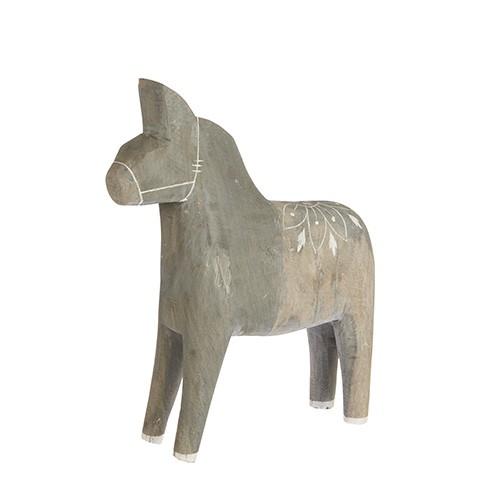Affari Dalapferd aus Holz, extra groß