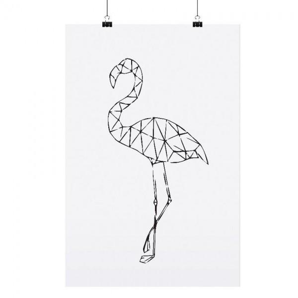"""Tafelgut Poster """"Flamingo"""", A3"""