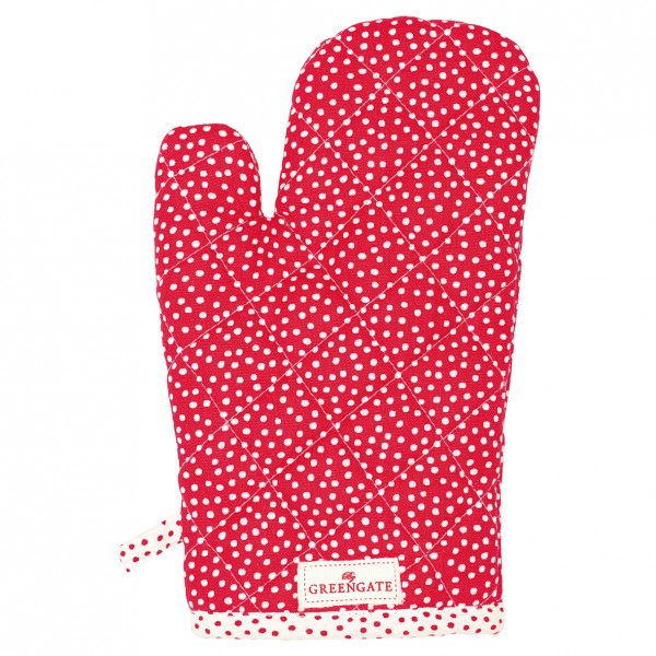 GreenGate Grillhandschuh / Grill Glove, Dot Red