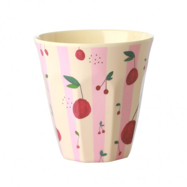 Rice Melamin Becher, Cherry Print