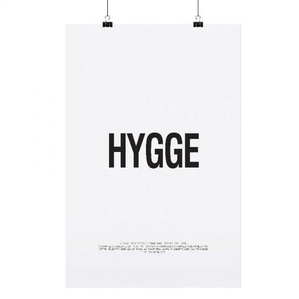 """Tafelgut Poster """"HYGGE"""", A3"""