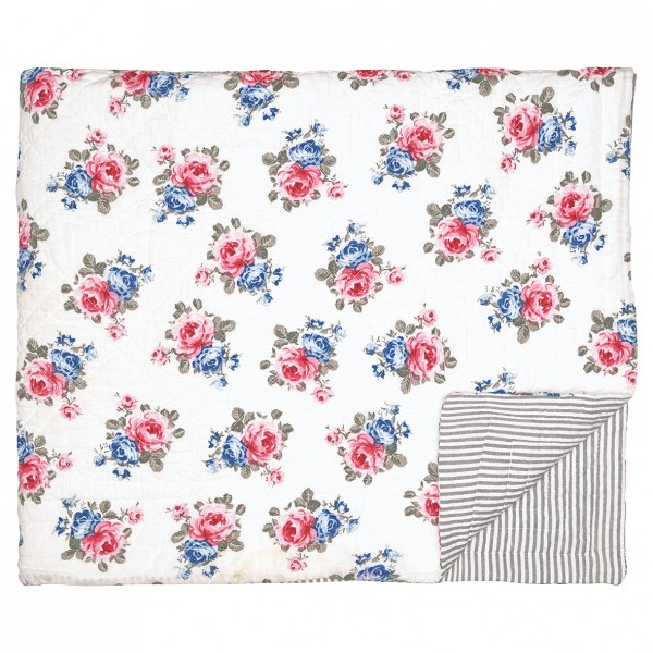 GreenGate Quilt / Bed Cover Hailey White