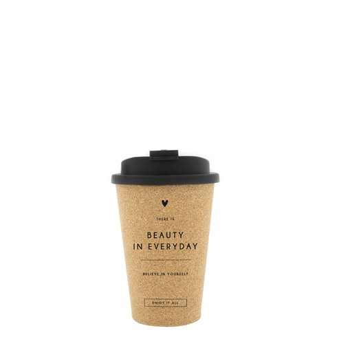"""Coffee-to-Go Becher """"Beauty in every day"""""""