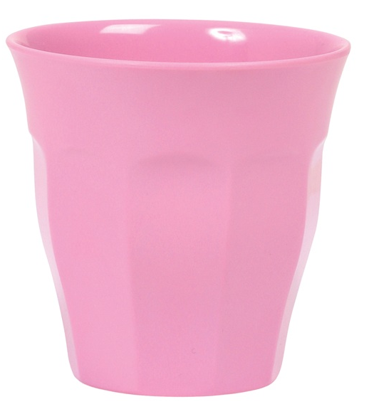Rice Melamin Becher, Dark Pink (hellrosa)