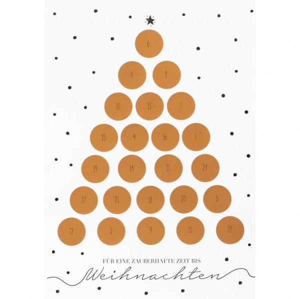 räder Adventskalender Tannenbaum (zum rubbeln)