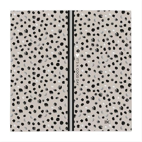 Bastion Collections Papierservietten Titane/Happy Dots
