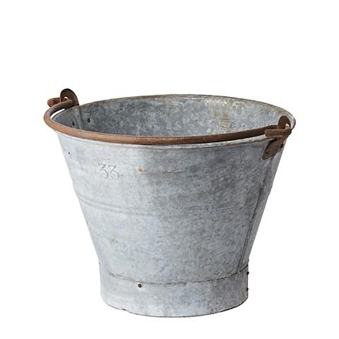 Affari Antiker Zinkeimer, groß