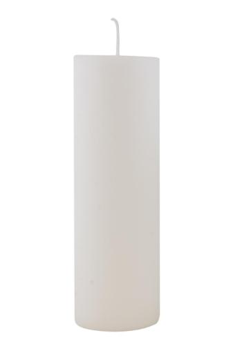 Ib Laursen Stumpenkerze weiß, 20 cm