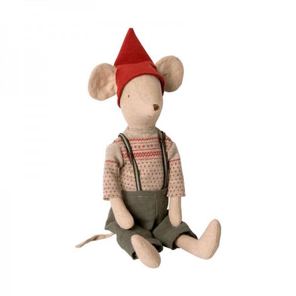 Maileg, Maus Medium Mouse Boy, Weihnachten