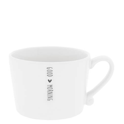 Bastion Collections Cup White / Good morning in black