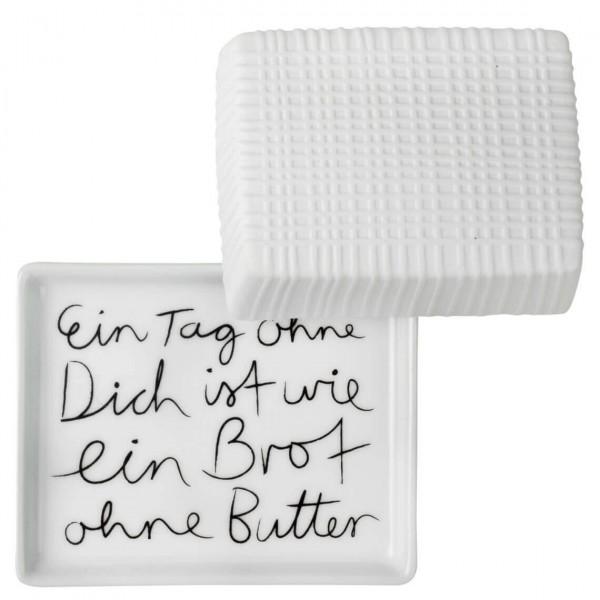 """Räder Kleine Butterdose """"Ein Tag ohne dich..."""""""