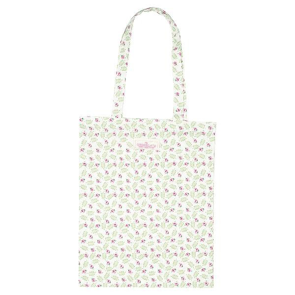 GreenGate Stofftasche / Bag Cotton Lily petit white