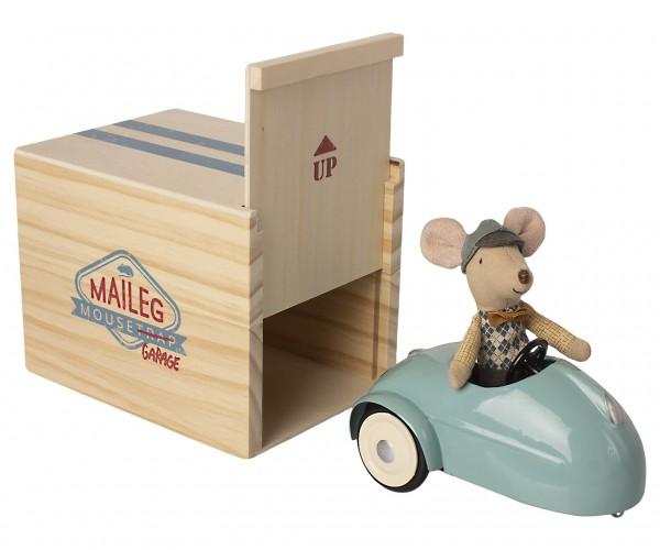 Maileg, Maus Auto mit Garage