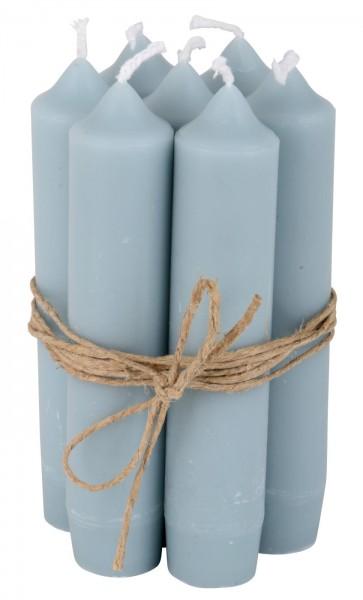 Ib Laursen Stabkerze, 8 Stück, hellblau