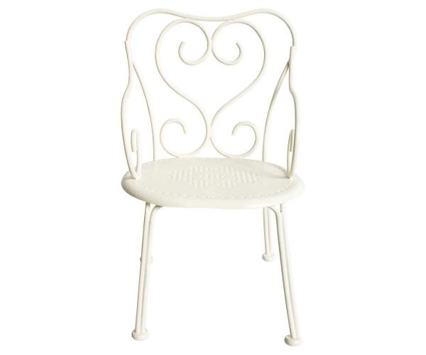 Maileg Stuhl Romantic Chair, Mini, Off White