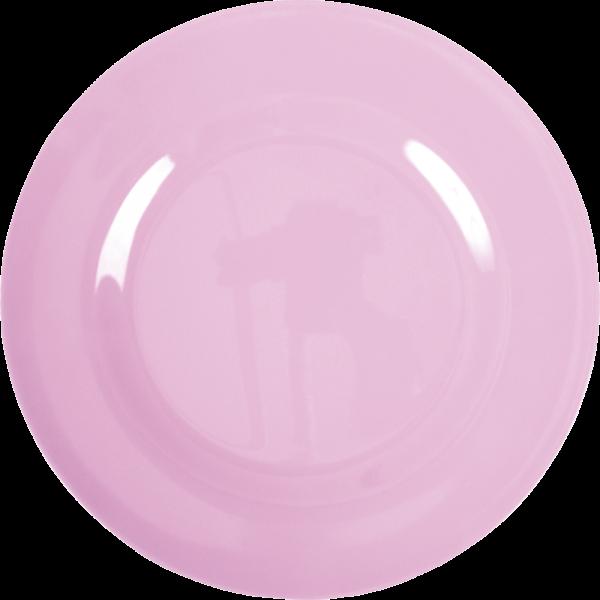 Rice Melamin Speiseteller, Dark Pink (Hellrosa)