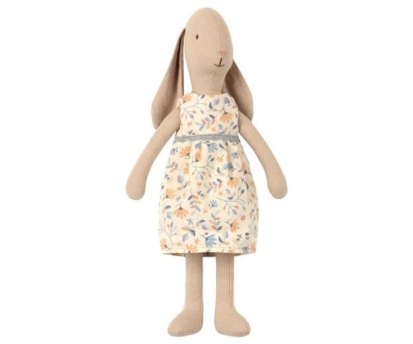 Maileg Hase / Bunny Girl, Flower Dress, Size 2