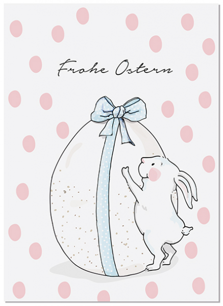 Krima & Isa Postkarte Ostern (Babytiere)