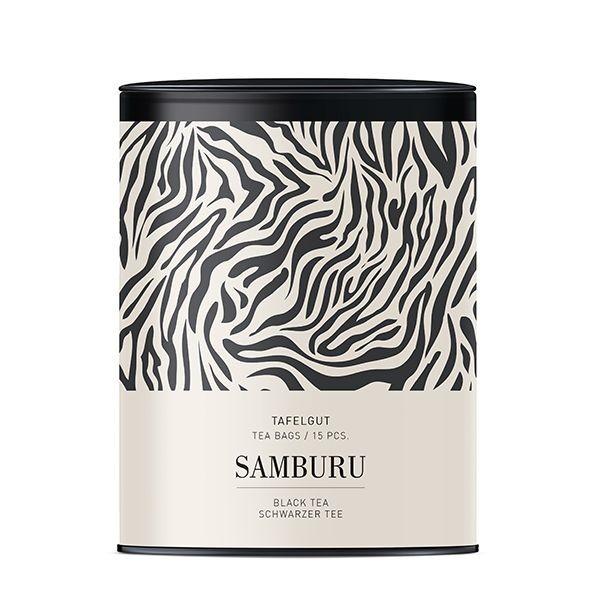 Tafelgut Samburu, Schwarztee Auslese, Teebeutel - Ltd. Edition