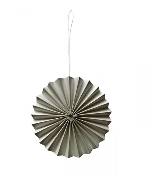 Papier-Ornament, Warm Gray