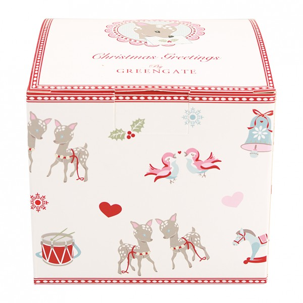 Greengate Geschenkbox Bambi White