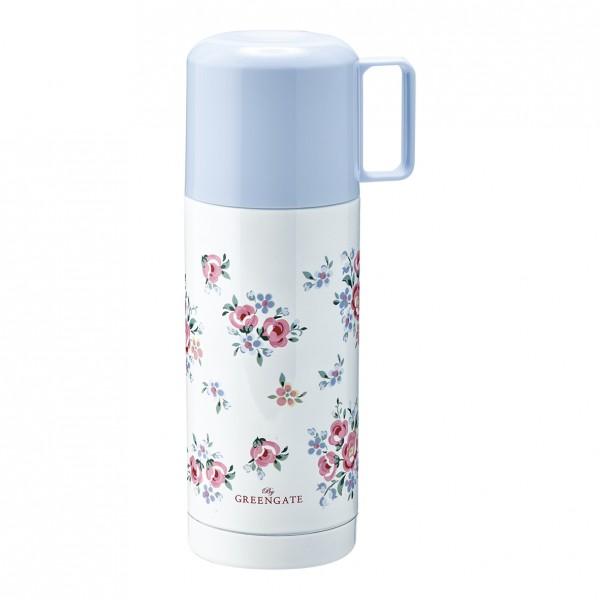 GreenGate Thermosflasche Nicoline white, 350 ml