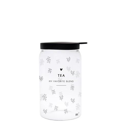 Bastion Collections Vorratsglas Tea (Little Flowerhearts), klein