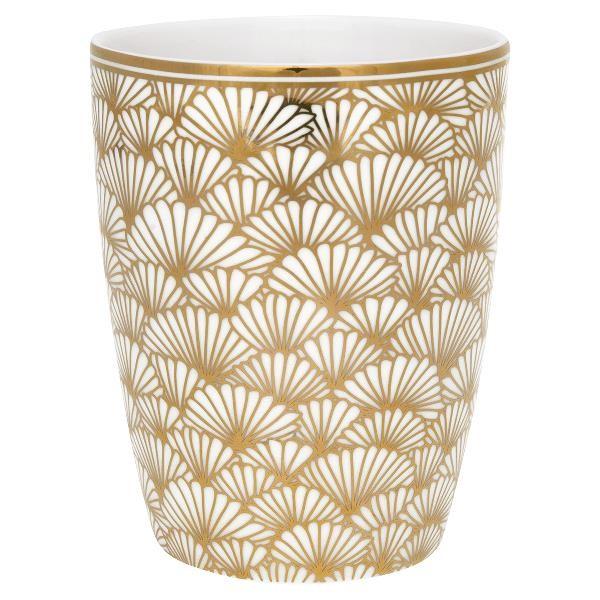 Gate Noir Latte Cup Jaqueline Gold