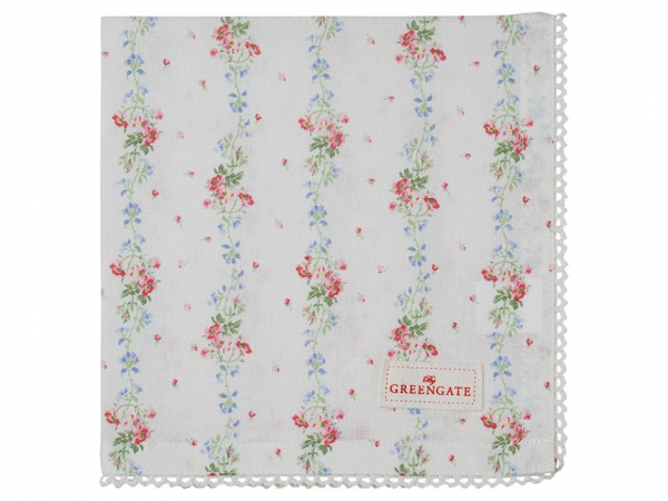 GreenGate Ltd. Edition Stoffserviette Sinja White