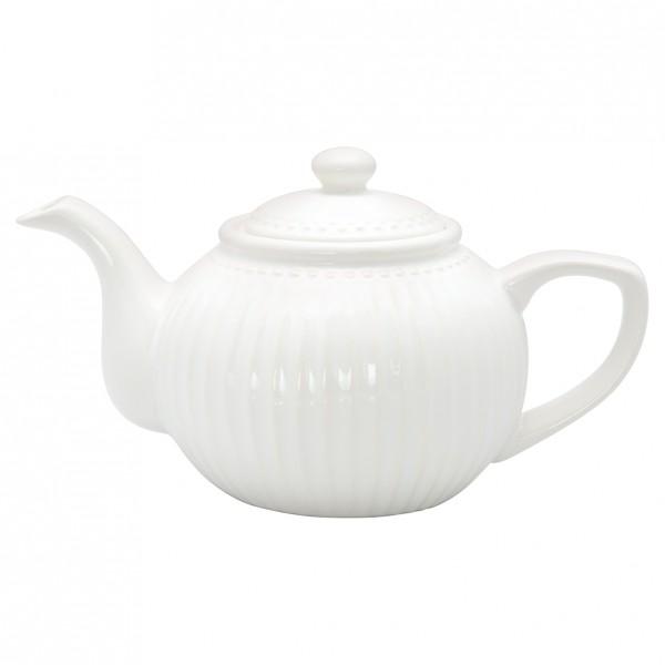 GreenGate Teekanne Alice White