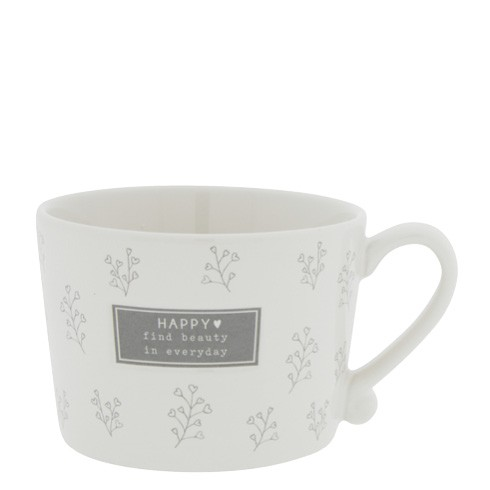 Bastion Collections Cup White / Find Beauty in everyday, Grey
