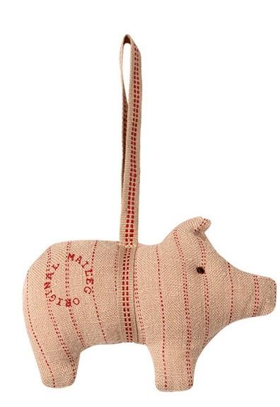 Maileg Schweinchen aus Stoff, Streifen