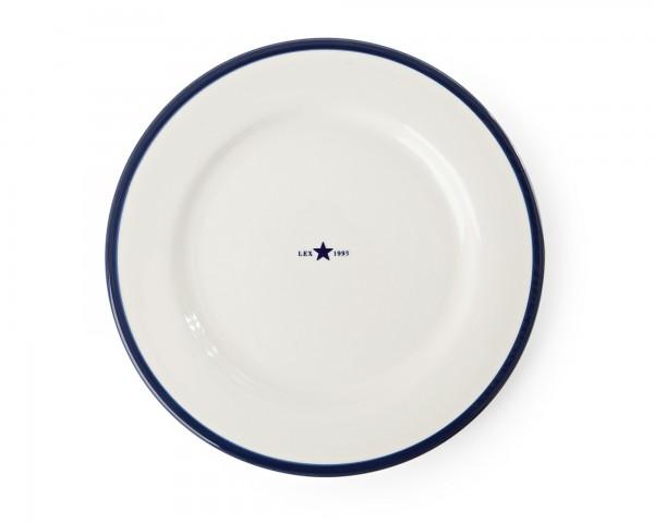 Lexington Dessert Plate/Desserteller, blau